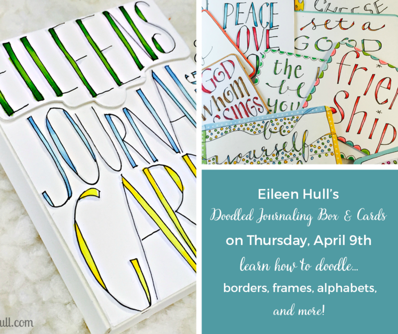 doodled journaling box & cards