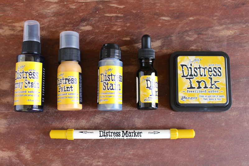Ranger Tim Holtz Fossilized Amber Product Review + Free PDF Download | Right at Home