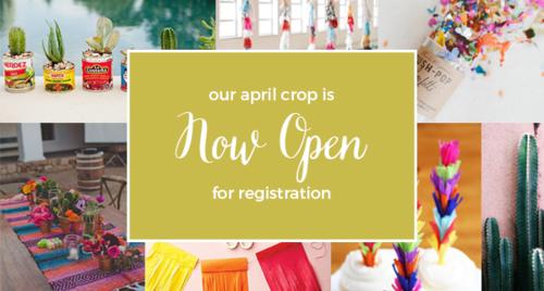April crop