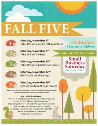 Fall Five Flier Image