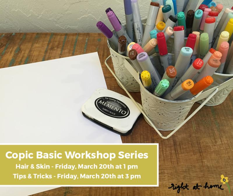 copic basics workshop