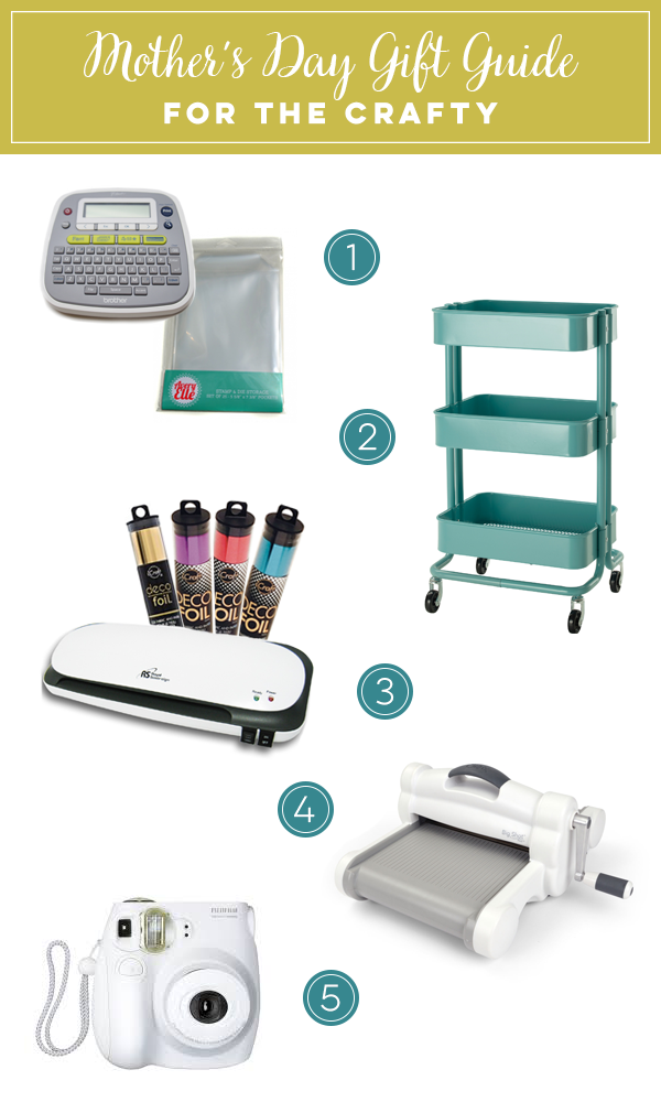 Mother's Day Gift Guide - For the Crafty | Click to visit Right at Home for links