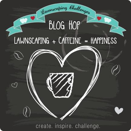 Lawnscaping Challenges Blog Hop // Click to visit Right at Home for a link to the start of the hop!